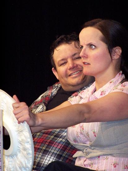 Victor Hentzen and  Sarah Nickerson