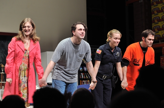 Photo Coverage: 'reasons to be pretty' Opens on Broadway - Curtain Call at the Lyceum