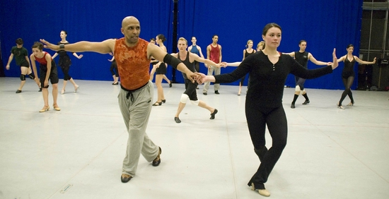Photo Flash: CONTACT Boot Camp With Tome' Cousin