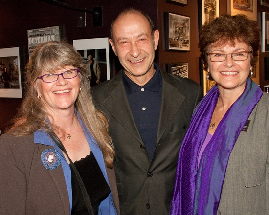 Judith Ivey, Harry King, and Angelina Fiordellisi at MENTOR PROJECT Event With Edward Albee Held On 4/2