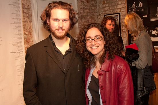 Jakob Holder and Daniella Topol at MENTOR PROJECT Event With Edward Albee Held On 4/2