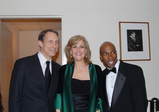 Gregg Edelman, Karen Mason and Eric Jordon Young