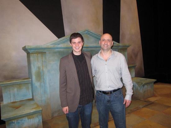 George Watsky (playwright) and Joe Antoun (director)