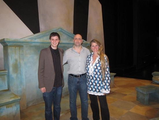 George Watsky, Joe Antoun and Bonnie Comley