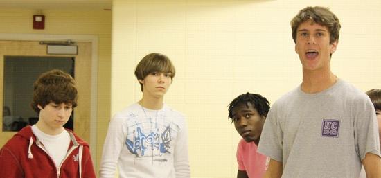 Josh Marcus, Luke Doyle, Kwaku Acheampong, and Matty Dowd