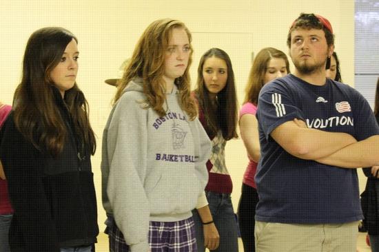 Olivia Cawley, Ellie Brigida, and Billy Thompson Photo