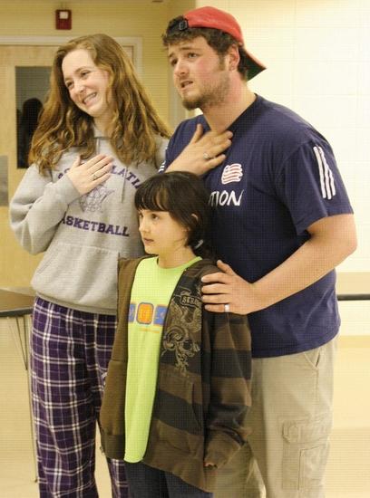 Ellie Brigida, Billy Thompson and (Vini Delgadillo Photo