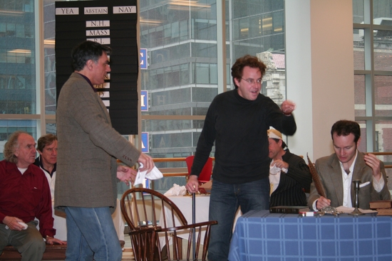 Robert Cuccioli, Don Stephenson and Jamie LaVerdiere