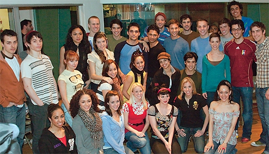 Photo Coverage: In The Recording Studio With The Broadway Cast Of WEST SIDE STORY!