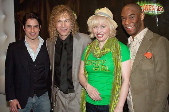 Matthew Saldivar, David Bryan, Nancy Opel and Demond Green