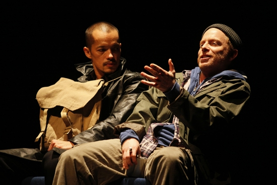 Arthur Acuna and Dan Waller at GHOSTWRITTEN At Goodman Theatre 4/4 - 5/3