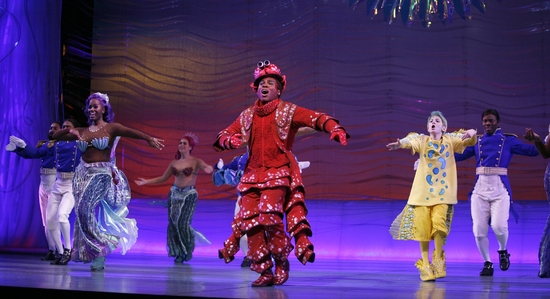 Photo Coverage: Faith Prince Joins THE LITTLE MERMAID