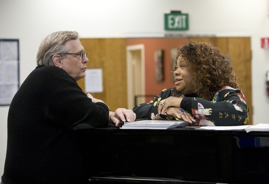 Photo Flash: Ain't Misbehavin Rehearsal At Center Theater Group
