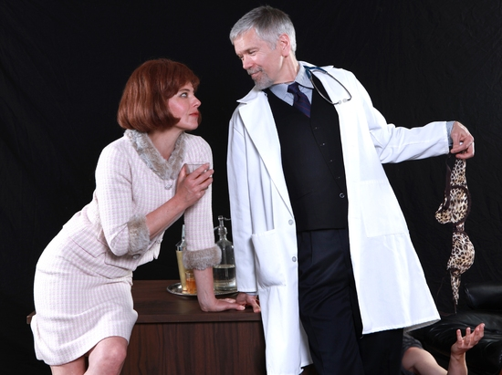 Photo Flash: WHAT THE BUTLER SAW At Marin Theatre