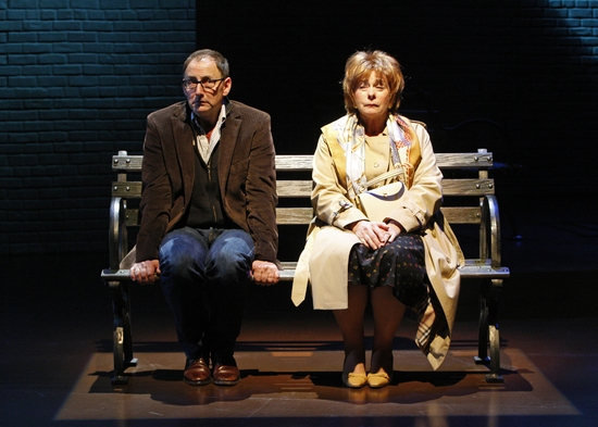 Arye Gross and Jenny O'Hara at South Coast Rep's OUR MOTHER'S BRIEF AFFAIR
