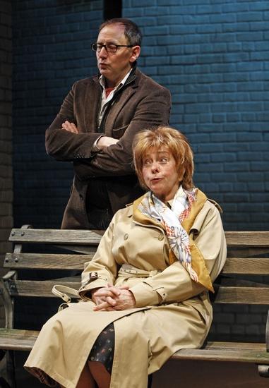 Arye Gross and Jenny O'Hara