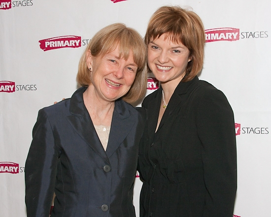 Liz Diamond and Mary Bacon