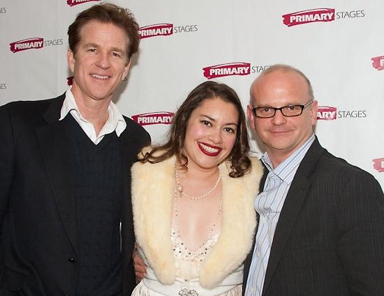 Matthew Modine, Vanessa Aspillaga and Michael Wilson