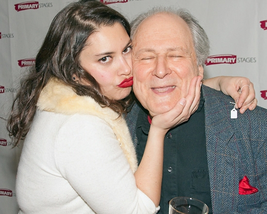 Vanessa Aspillaga and David Margulies