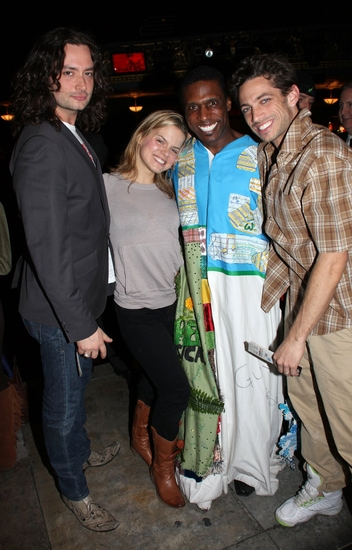 Photo Coverage: 'The Search Is Over' - ROCK OF AGES Gypsy Robe Ceremony!