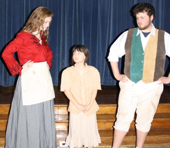 Ellie Brigida, Vini Delgadillo, and Billy Thompson Photo