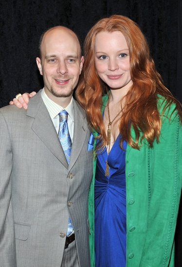 Taro Alexander and Lauren Ambrose at OUR TIME Benefit Gala