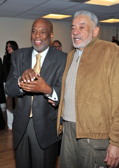 Howard Bingham and Bill Withers