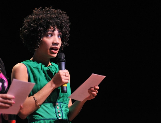 Jasika Nicole at OUR TIME Benefit Gala