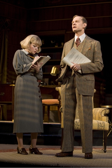 David Hyde Pierce and Mary Catherine Garrison Photo