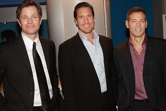 Brian Lane Green, Matt Farnsworth and Kevin Spiritas