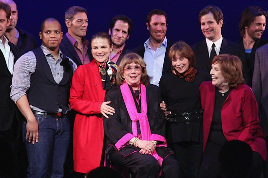 Darrian Ford, Tovah Feldshuh, Phyllis Newman, Alice Playten and Anne Meara