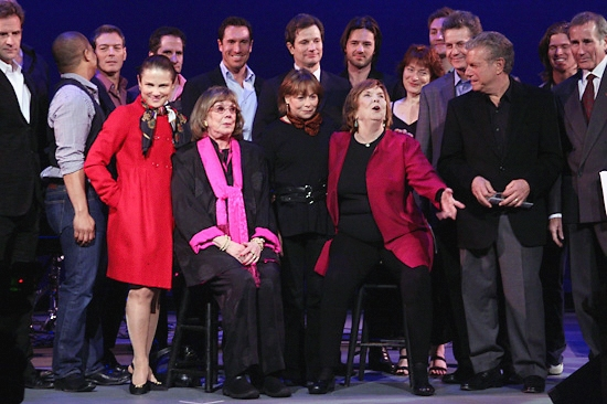 Darrian Ford, Tovah Feldshuh, Phyllis Newman, Alice Playten, Anne Meara, Mike Burstyn and Jim Dale