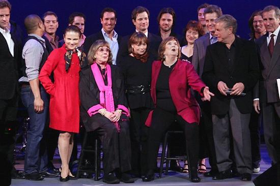 Darrian Ford, Tovah Feldshuh, Phyllis Newman, Alice Playten, Anne Meara, Mike Burstyn and Jim Dale