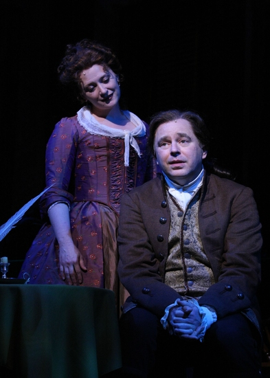 Kerry O'Malley (Abigail Adams) and Don Stephenson (John Adams)