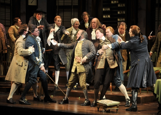 Photo Flash: 1776 At Paper Mill Playhouse