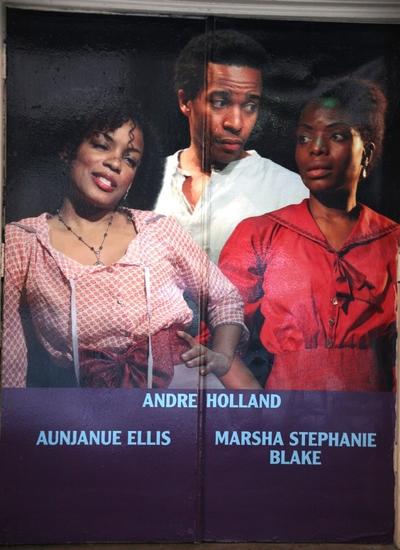 Aunjanue Ellis, Andre Holland and Marsha Stephanie Blake