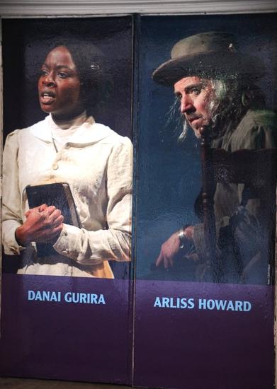 Danai Gurira and Arliss Howard   Photo