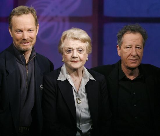 Bill Irwin, Angela Lansbury and Geoffrey Rush