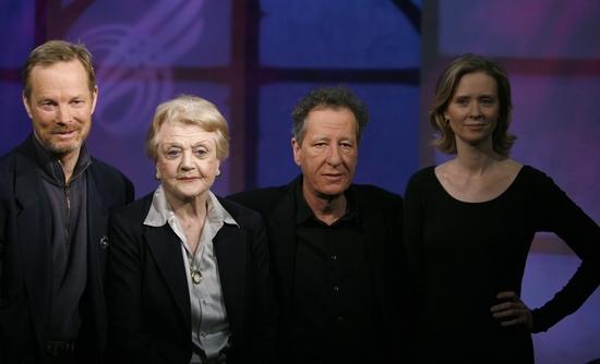 Bill Irwin, Angela Lansbury, Geoffrey Rush and Cynthia Nixon