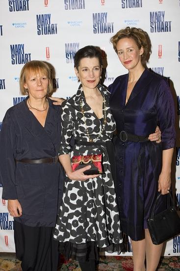 Phyllida Lloyd, Janet McTeer and Harriet Walter Photo