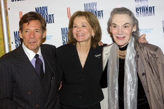 Ron Leibman, Jessica Walter and Marian Seldes Photo