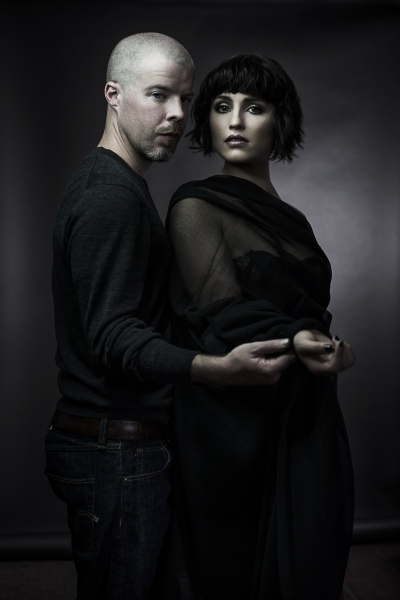 Photo Flash: Promotional Shots for MCQUEEN, Starring Dianna Agron & Stephen Wight