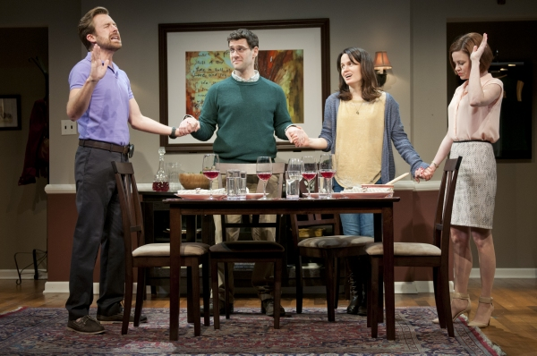 Lucas Near-Verbrugghe, Justin Bartha, Elizabeth Reaser and Nicole Lowrance