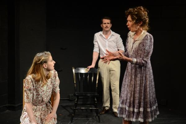 Rachel Adams as Julie Haydon, Paul Thomas Ryan as Tennessee Williams and PennyLynn White as Laurette Taylor