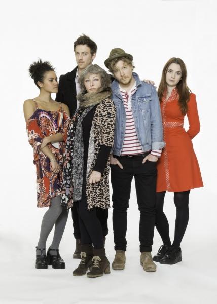 Emma McDonald, James Northcote, Abigail McKern, Adam Buchanan and Ruby Thomas