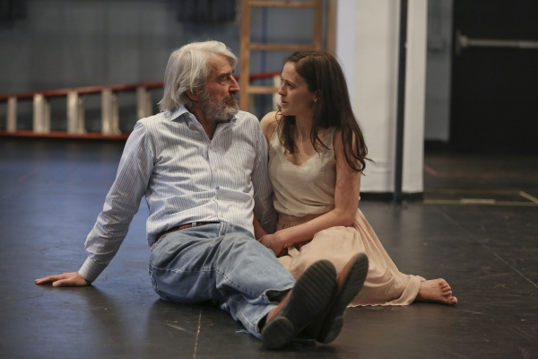 Francesca Carpanini and Sam Waterston
