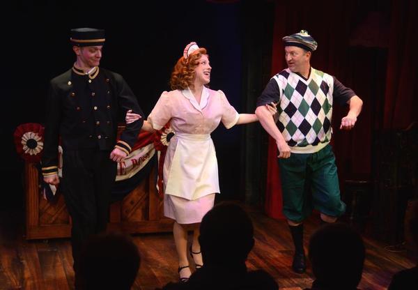Owen Pelesh, Ellie Mooney and Scott Langdon. Photo by Sabina Louise Pierce.