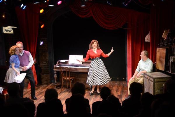 Ellie Mooney, Owen Pelesh, Denise Whelan and Scott Langdon. Photo by Sabina Louise Pierce.