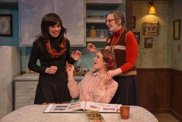 Amanda Powell, Elizabeth Antonucci and Sarah-Jayne Ashenhurst