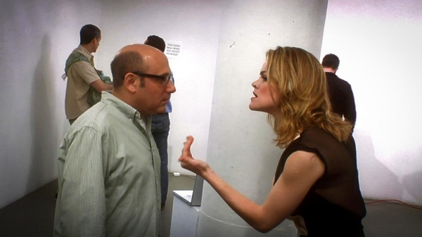 Willie Garson and Missi Pyle